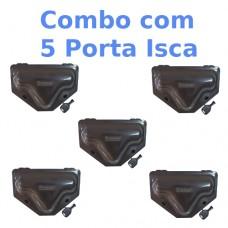 Combo Porta Isca com Chave 5 unidades