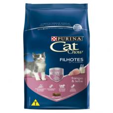 Cat Chow Defense Plus Filhotes Frango e Leite 10kg