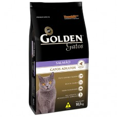 Golden Gatos Adulto Salmão 10.1kg