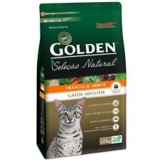Golden Seleção Natural Gatos Adultos Frango e Arroz 10,1kg