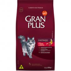 Gran Plus Gatos Adultos Castrados Carne e Arroz 1kg A Granel