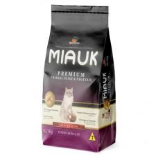 Ração Miauk Gatos Premium 10kg