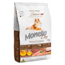 Monello Select Frango e Arroz 15kg