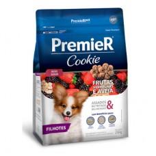 Biscoito Premier Pet Cookie Frutas Vermelhas e Aveia Filhotes 250g