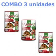Combo Monello Delice sabor picanha 70g 3 unidades