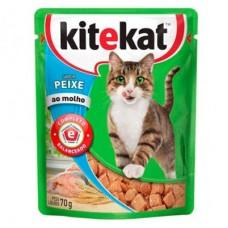 Sache Kitkat Gatos Adulto Peixe 70g