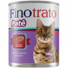 Pate Finotrato Gatos Carne 280g
