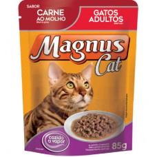 Sachê Magnus Gatos Adulto Carne 85g