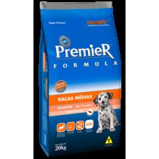 PremieR Formula Filhotes Raças Medias Criador 20kg + Pote de brinde