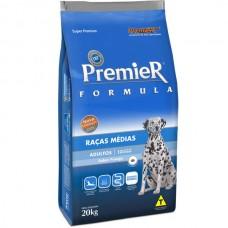 PremieR Formula Adultos Raças Medias 20kg + Pote de brinde