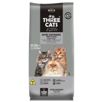 Three Cats Premium Especial Gatos Castrados 10kg