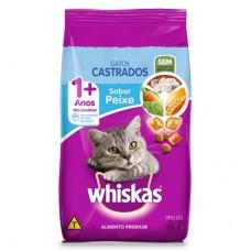 Whiskas Adulto Gatos Castrados Peixe 1kg A Granel