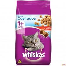 Whiskas Adulto Gatos Castrados Carne 1kg A Granel
