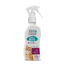 Banho a Seco Spray Pet Clean Gatos 300ml
