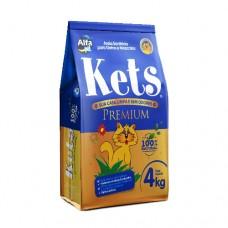 Areia Sanitária Kets Premium 4kg