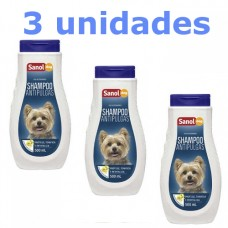 Combo Shampoo Sanol Dog Antipulgas 500ml