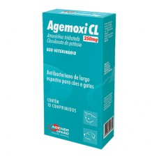 Agemoxi CL 250mg 10 comp