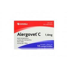 Alergovet C 1,4mg 10 comprimidos