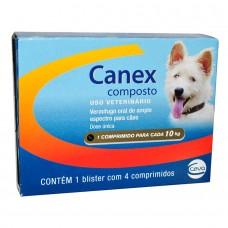 Canex Composto 4 Comprimidos