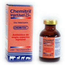 Chemitril Injetável 2,5% 20ml