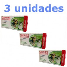 Combo Chemitril 50mg com 3 unidades