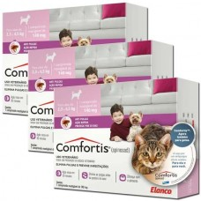 Combo Antipulgas Comfortis 140mg Cães e Gatos