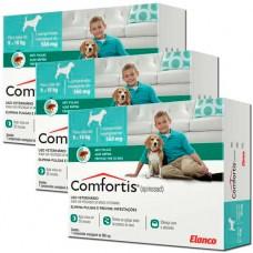 Combo Antipulgas Comfortis 560mg Cães e Gatos