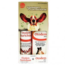 Kit Otodem Plus 20ml + Otodem Auriclean 100ml.