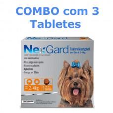 Combo NexGard 2 a 4kg 11,3mg