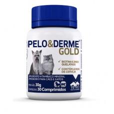 Pelo & Derme Gold 30 comp
