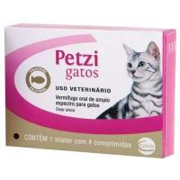 Petzi Plus Gatos 4 comprimidos.