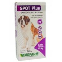 Carrapaticida e Pulgicida Spot Plus acima de 40kg.